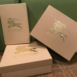 Authentic Burberry Boxes Pack of 3